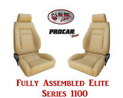 Procar Full Bucket Seats 80-1100-54 Elite 1100 Series For 1978 - 79 Ford Bronco
