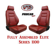 Procar Full Bucket Seats 80-1100-58 Elite 1100 Series For Ford Bronco 1978 - 79
