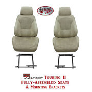 Standard Touring Ii Seats And Brackets For 1968-74 Ford Broncoand039s Any Color