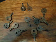 Vintage Singer Sewing Machine And Others Cabinet Hinges