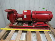 Bell And Gossett 480gpm 15hp 3ph 200v 1510 End Suction Pump 4 In X 3 Out