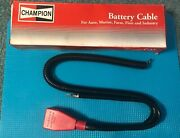 Champion Battery Cable 64083 25 In 3 Ga Top Terminal No Lead