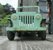 Tonka Jeep Vintage For Parts As Is Rusty And Old Rough 9 3/4 Long
