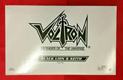 Voltron Classics Club Lion Force Black Red Blue Green Yellow Complete 5 Mattel