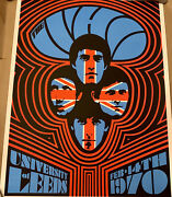 The Who 1970 Leeds 2 Ames Bros Glow In Dark Artist Proof Limited Edition Xx/60