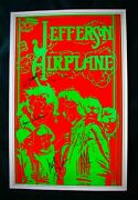 Jefferson Airplanesigned 1967 Poster By All Including Signe Toly Anderson W/coa