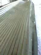 Old Reclaimed Corregated Armstrong Steel Roofing Ten Foot Sheets