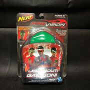 Nerf Firevision Fire Vision Sports Green Frames Lights Out Game On Glow Nip
