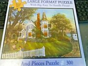 New 300 Piece Keith Brown Art Puzzle Lazy Summer Days Large Format 18x24jjjj