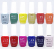 Opi Mexico City Collection Gelcolor Gel Polish - Base And Top - Choose - 0.5 Oz