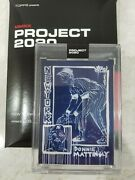 Topps 2020 Project Don Mattingly By Gregory Siff Print Run /7900 In Hand
