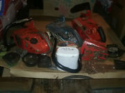 Vintage Homelite 150 Chainsaw Bargain Lot Of Chainsaws And Parts + Good Runner