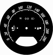 Kawasaki Nomad 1600 Gauge Fit 03-09 Mph Or Km/h Face Plate