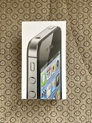 Brand New - Iphone 4s Black 16gb - Factory Sealed - Collector Piece Rare
