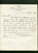 1867 J M Skinner And G W M Williams Attorneys Midway And Barnwell Sc Letter Head