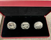 2013 20 Fine Silver Coins - 3 Canada Coin Set Birth Of The Royal Infant
