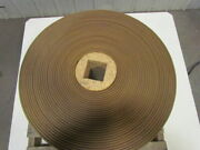 4-ply Tan Rubber Rough Top Incline Conveyor Belt Material Handling 12x211and039 Long