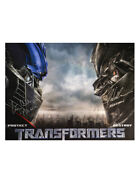 Optimus Prime And Megatron 16x12 Print Signed By Peter Cullen And Frank Welker