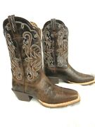Ariat Womenand039s Boot Legend 10010933 11choc.chip Sq.toe 190 Med. Or Wide