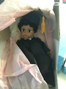 Madame Alexander   African American Graduation Doll New Black Girl W Fro Rare