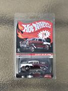 Hot Wheels 2016 Red Line Club Rlc Car Red/white And03955 Chevy Bel Air Gasser 298