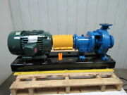 Gusher Pcl2x3-10seh-c-a 10hp Centrifugal Pump End Suction 160gpm 460v 3ph