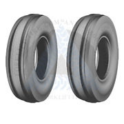 7.50-16 8p F2 Rib Agriculture Tractor Tires 750-16 7.50x16 750x16 75016 2x Deal
