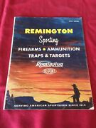 Remington Ammo Traps And Targets 1958 Catalog Very Good Old Stock 35