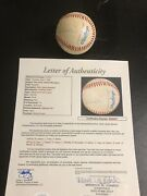 Autographed New York Yankees Managers Baseball Jsa Signed 14 In All Billy Martin