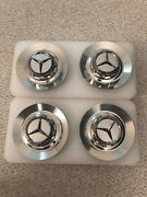 Used Mercedes C63 Amg W205 Center Chrome Cap Wheel Hub Cover A0004001100 Stock