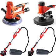 Electric Drywall Sander 710w/750w/1200w 6pc Sanding Pads Vacuum Dust Collector
