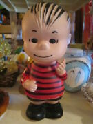 Linus 1950 Soft Vinyl Doll Figure Hunger Ford Peanuts Snoopy Total Length 23m