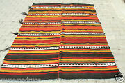 Antique 1920s Goatand039s Hair Tent Woven Turkish Nomad Flat Woven From Tauros Mnt