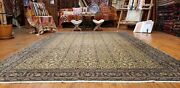 Antique 1930-1940and039s Wool Pile Legendary Hereke Area Rug 7x10ft