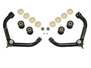 Icon Delta Joint Tubular Upper Control Arm Kit For 2001-2010 Gm 2500 3500 Hd