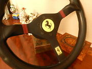 Ferrari 328 Gts 328 Gtb Steering Wheel 36 Cm Momo Made 88 German D.o.t. Approved