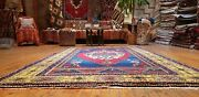 Exquisite Antique 1930-1948and039s Natural Color Wool Pile Area Rug 5and0392and039and039x9and0394and039and039