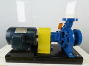 Armstrong 3x2x6 End Suction Centrifugal Pumps 200gpm 90and039 Lift 7.5hp 208-230/460v