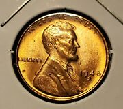 1948 S Lincoln Wheat Penny Unc H1997