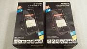 2 Authentic Lifeproof Bike And Bar Mounts For Iphone 4 And 4s Cases Black Open Box