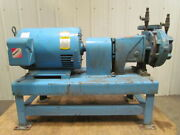 Thrush 2.5x3x7-hpfe300-20 Base Mount Centrifugal Pump 20hp 3ph 3in 2-1/2out