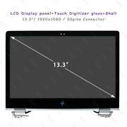 917927-001 Hp Elitebook X360 1030 G2 Led Lcd Touch Screen Full Assembly + Shell