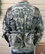 So Tech Medical Assault Chest Harness System And Us Army Jacket