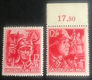 Germany. 1945. Last Third Reich Stamps Margin Mnh Perf Genuine