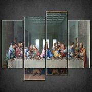 The Last Supper Jesus Religion Cascade Canvas Print Wall Art Picture Free Uk Pandp