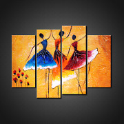 Ballet Dancers Canvas Print Picture Wall Art Home Decor Free Fast Delivery
