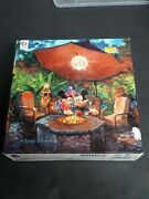 Disney Mickey Mouse And Minnie Fine Art 1000 Piece Puzzle James Coleman Pluto