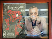 Spider-man Torment Part 1 Silver Stan Lee Signed Collectible