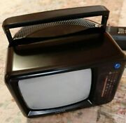 Emergency/outdoors Black And White Amtel 5 Mini Tv Electric/battery Operated
