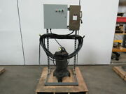 Weil Pump A-b 4-260316-5 5hp Submersible Sump Pump W/ Starter Disc. And 75and039 Cord